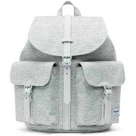 Herschel Dawson Small Backpack light grey crosshatch